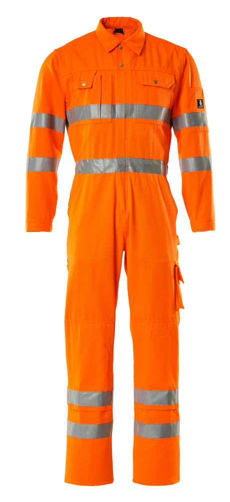 00419-860-14 Arbeitsoverall - hi-vis Orange