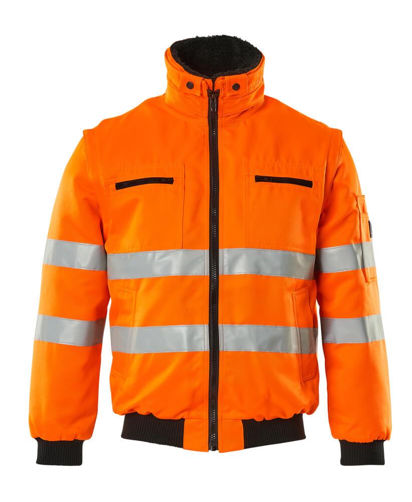 00520-660-14 Pilotjacke - hi-vis Orange