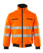 00520-660-14 Pilotjacke - hi-vis Orange