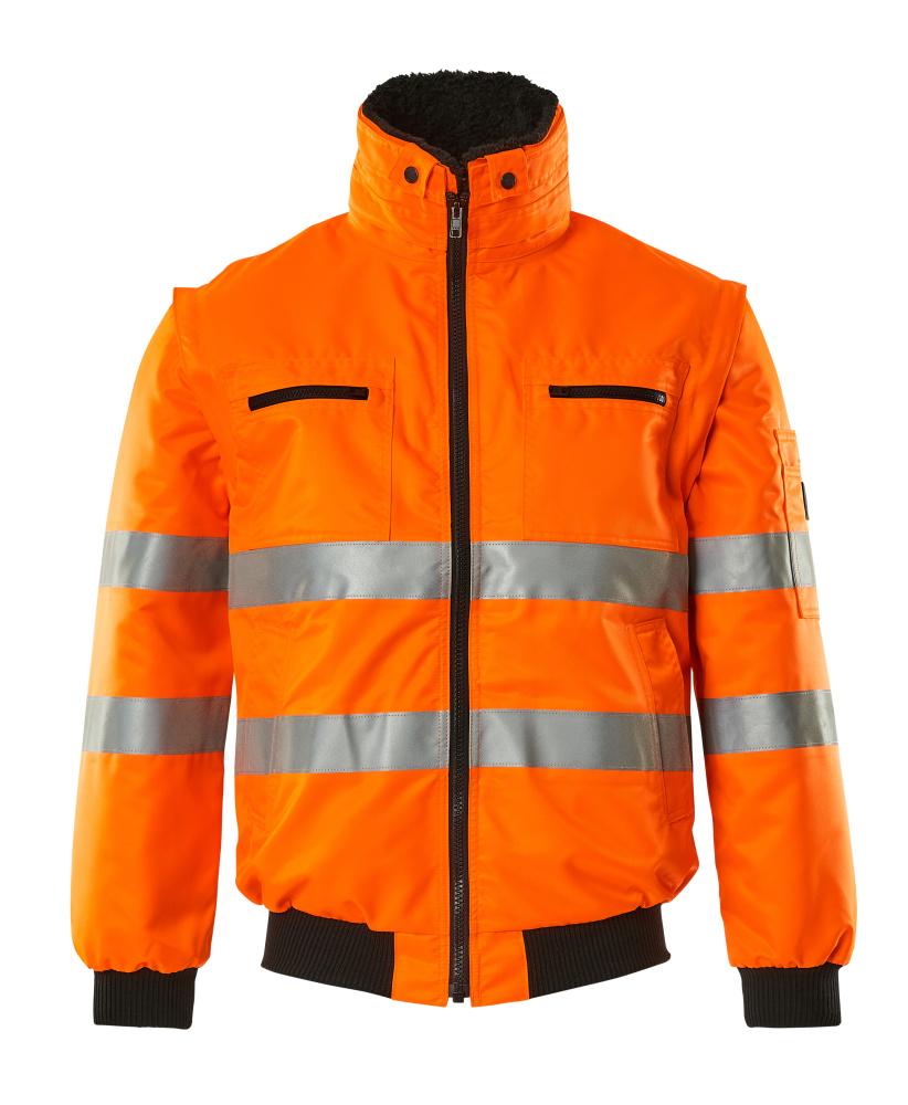 00535-880-14 Pilotjacke - hi-vis Orange