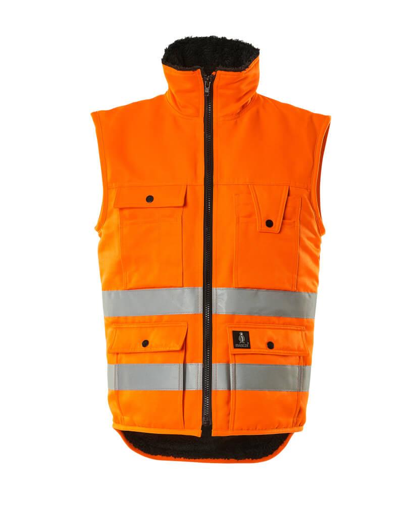00554-660-14 Winterweste - hi-vis Orange