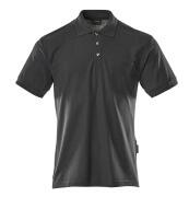 00783-260-010 Polo-Shirt mit Brusttasche - Schwarzblau