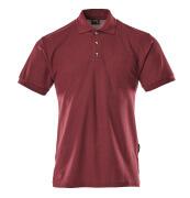 00783-260-22 Polo-Shirt mit Brusttasche - Bordeaux