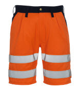 00949-860-141 Shorts - hi-vis Orange/Marine
