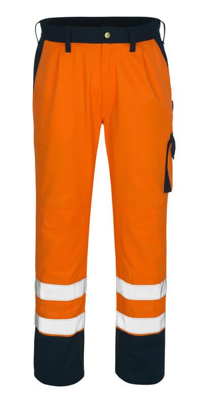 00979-860-141 Arbeitshose - hi-vis Orange/Marine