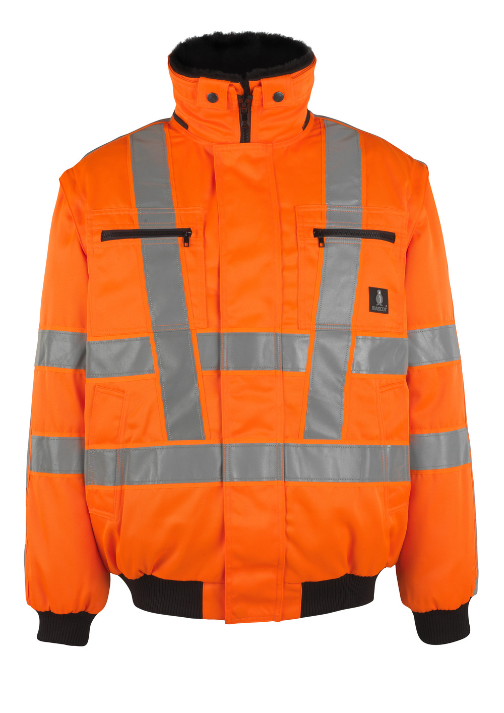 05020-660-14 Pilotjacke - hi-vis Orange