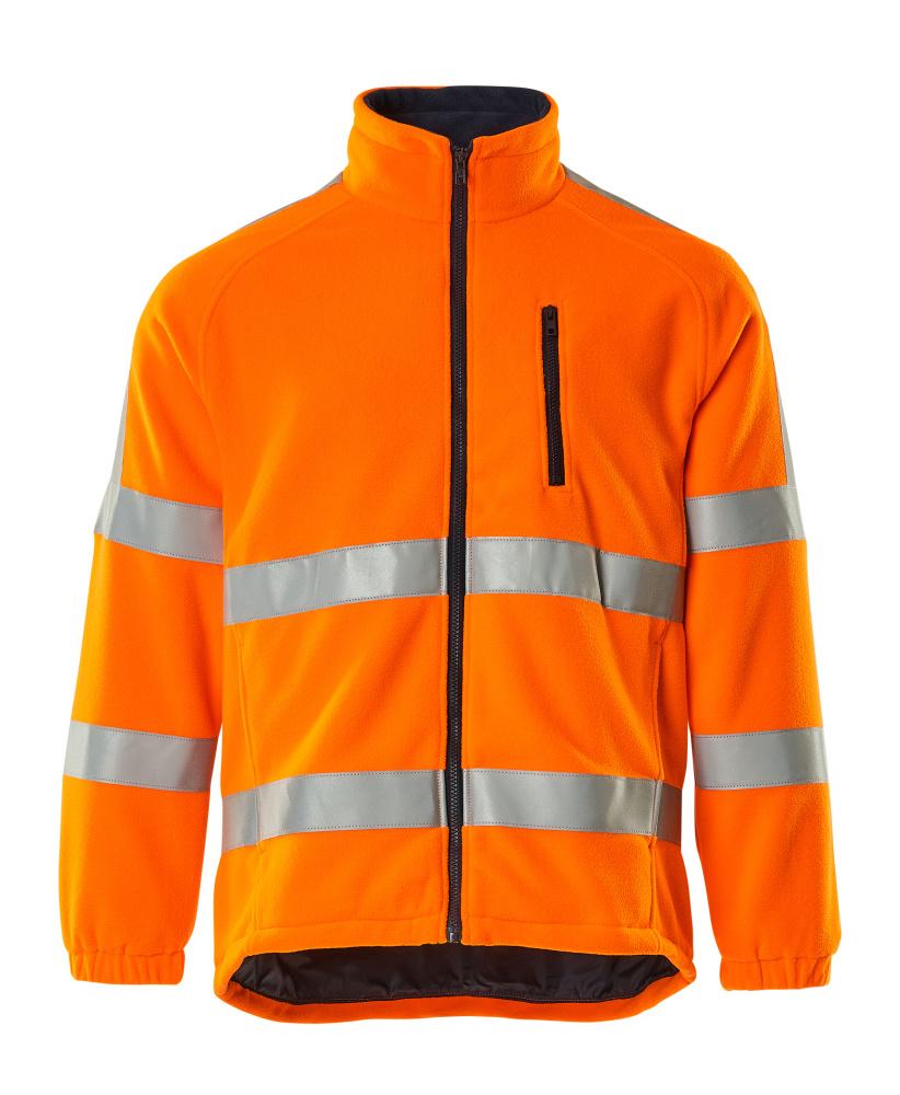 05242-125-14 Fleecejacke - hi-vis Orange