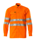 06004-136-14 Hemd - hi-vis Orange