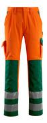 07179-860-1403 Arbeitshose - hi-vis Orange/Grün