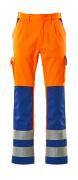 07179-860-1411 Arbeitshose - hi-vis Orange/Kornblau