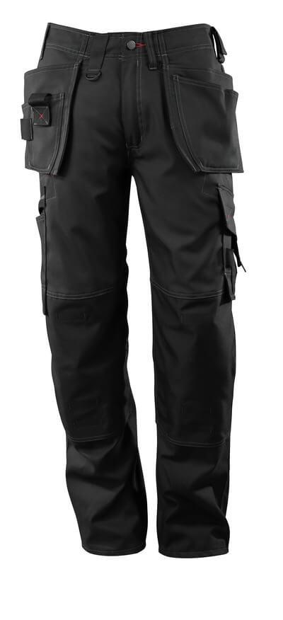 07379-154-09 Handwerkerhose - Schwarz