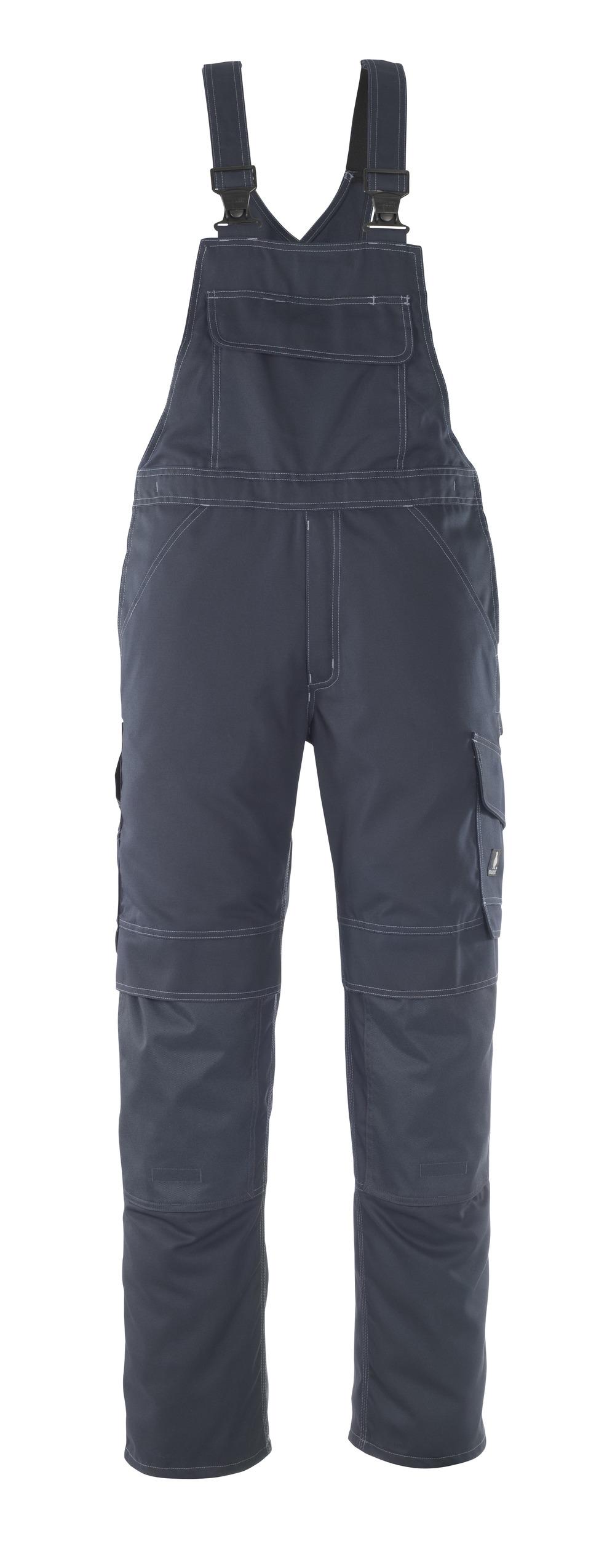 10169-154-010 Arbeitslatzhose - Schwarzblau