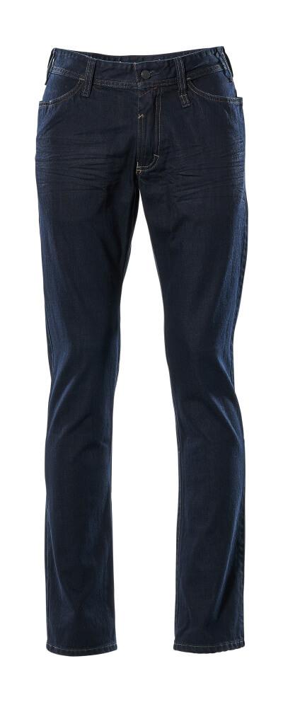 15379-869-66 Jeans - Gewaschener dunkler Denim