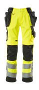 15531-860-1709 Handwerkerhose - hi-vis Gelb/Schwarz