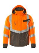 15535-231-1418 Winterjacke - hi-vis Orange/Dunkelanthrazit