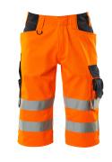 15549-860-14010 Shorts, lang - hi-vis Orange/Schwarzblau