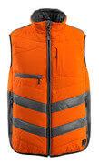 15565-249-1418 Winterweste - hi-vis Orange/Dunkelanthrazit