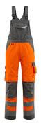 15569-860-1418 Arbeitslatzhose - hi-vis Orange/Dunkelanthrazit