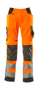 15579-860-1418 Arbeitshose - hi-vis Orange/Dunkelanthrazit