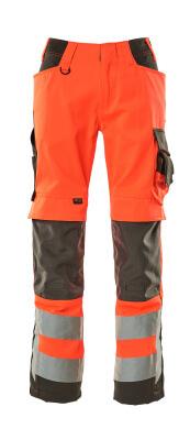 15579-860-14010 Arbeitshose - hi-vis Orange/Schwarzblau
