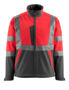 15902-253-1418 Soft Shell Jacke - hi-vis Orange/Dunkelanthrazit
