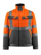 15909-948-1418 Jacke - hi-vis Orange/Dunkelanthrazit