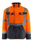 15935-126-14010 Winterjacke - hi-vis Orange/Schwarzblau