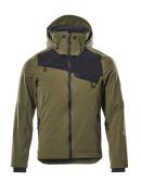 17001-411-3309 Hard Shell Jacke - Moosgrün