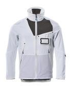 17101-311-0618 Jacke - Weiß/Dunkelanthrazit