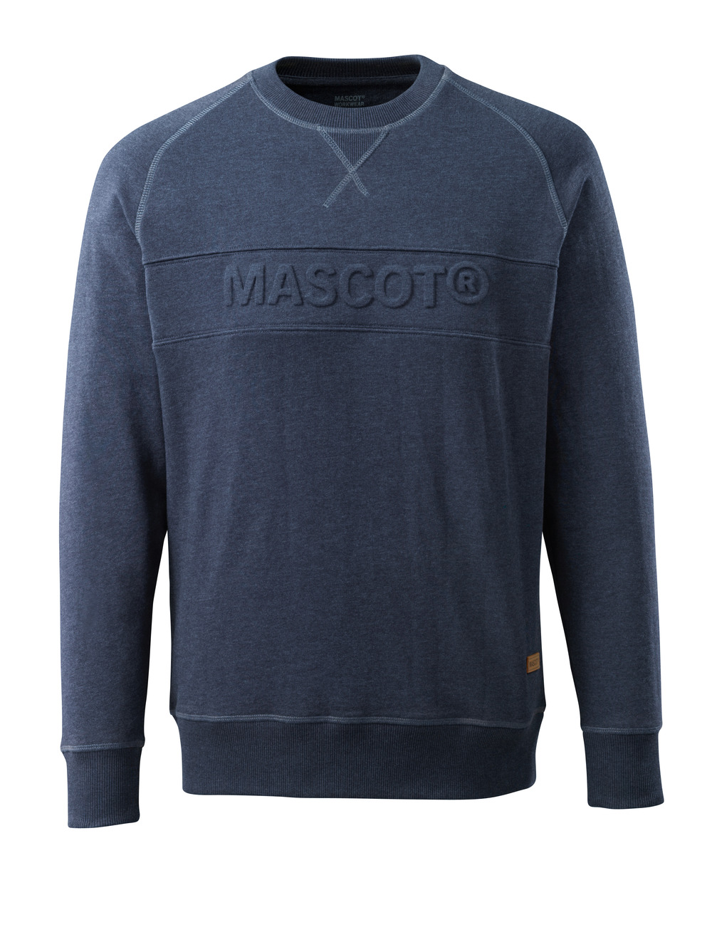 17184-830-66 Sweatshirt - Gewaschener dunkler Denim