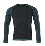 17281-944-010 Langarm T-Shirt - Schwarzblau