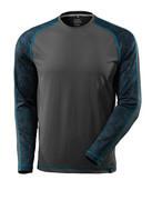 17281-944-09 Langarm T-Shirt - Schwarz