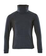 17584-319-01009 Sweatshirt - Schwarzblau/Schwarz