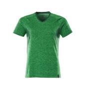 18092-801-33303 T-Shirt - Grasgrün  meliert/Grün