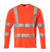 18281-995-222 Langarm T-Shirt - hi-vis Rot
