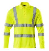 18283-995-17 Polo-Shirt, Langarm - hi-vis Gelb