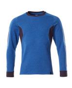 18384-962-91010 Sweatshirt - Azurblau/Schwarzblau