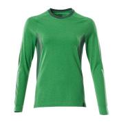 18391-959-33303 Langarm T-Shirt - Grasgrün/Grün