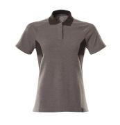 18393-961-1809 Polo-Shirt - Dunkelanthrazit/Schwarz