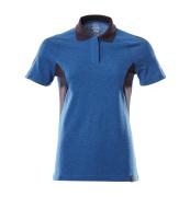 18393-961-91010 Polo-Shirt - Azurblau/Schwarzblau