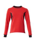18394-962-01091 Sweatshirt - Schwarzblau/Azurblau