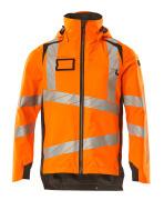 19001-449-1418 Hard Shell Jacke - hi-vis Orange/Dunkelanthrazit