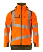 19001-449-1433 Hard Shell Jacke - hi-vis Orange/Moosgrün