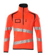 19005-351-14010 Strickpullover - hi-vis Orange/Schwarzblau