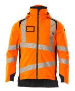 19035-449-14010 Winterjacke - hi-vis Orange/Schwarzblau