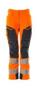 19078-511-14010 Arbeitshose - hi-vis Orange/Schwarzblau