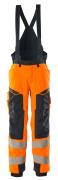 19090-449-14010 Winterhose - hi-vis Orange/Schwarzblau