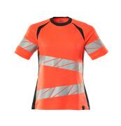 19092-771-14010 T-Shirt - hi-vis Orange/Schwarzblau