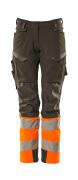 19178-511-01014 Arbeitshose - Schwarzblau/hi-vis Orange