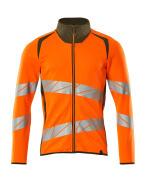 19184-781-1433 Sweatshirt - hi-vis Orange/Moosgrün